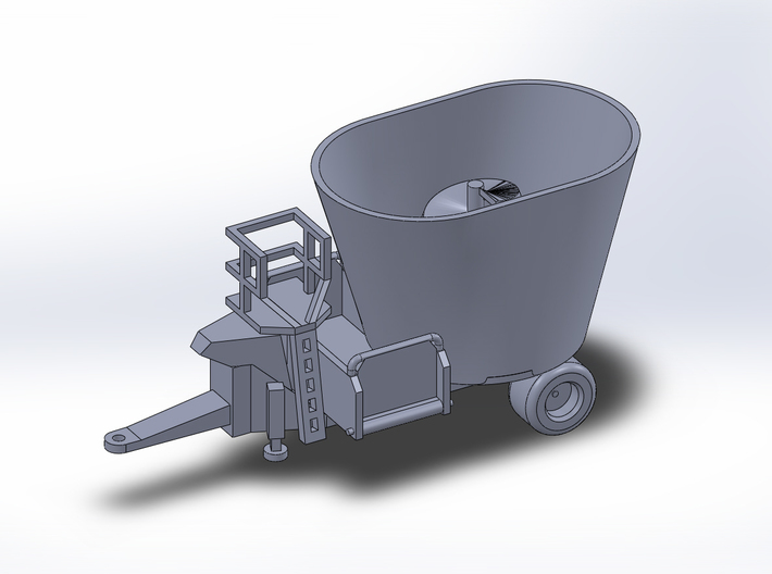 NEW!!!! 1:160/N-Scale - Fodder Mixing Wagon 3d printed