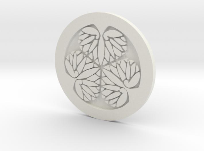 Tokugawa clan Coaster 3d printed