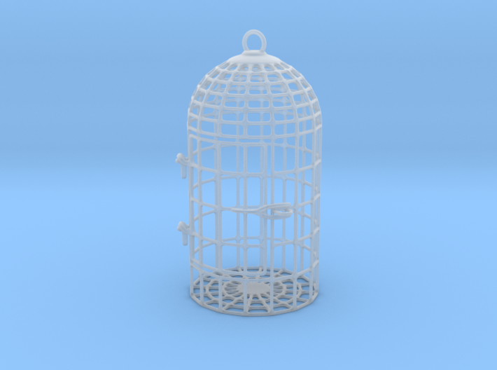 Unruly Dice Cage 3d printed
