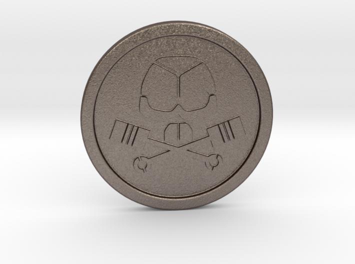 BRMC Coin 3d printed