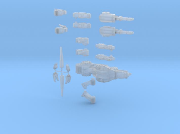 CQ-SRA-0 Alt B (scaled) 3d printed