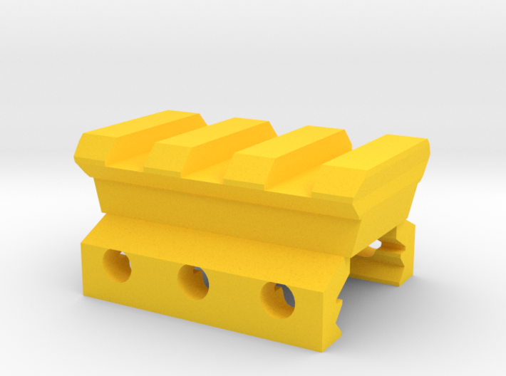 Nerf Rival to Picatinny Adapter 3d printed