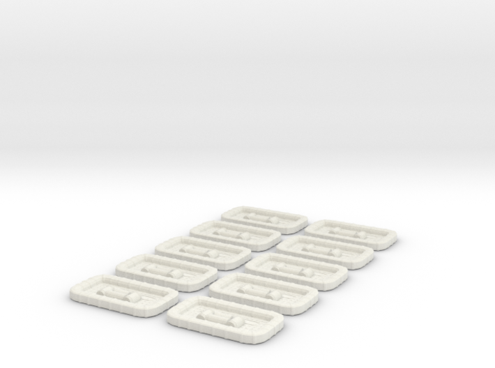 1/96 USN Carly Float Square Set 10 Units 3d printed