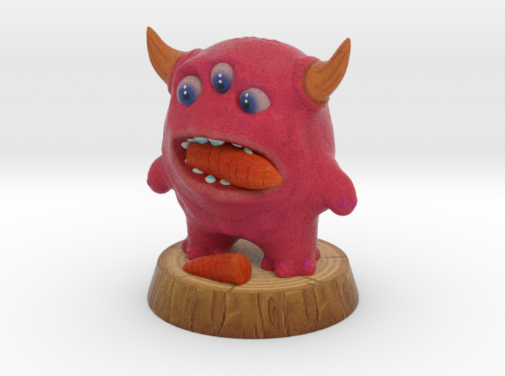 RED Eating 3d printed