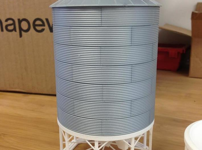1/64 & 1/87 Hopper for RIX Products Bin 3d printed