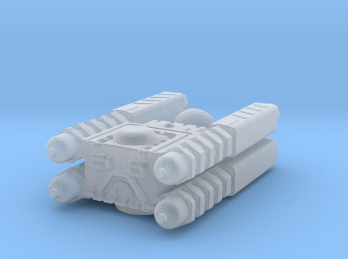 Quad Cannon 3d printed