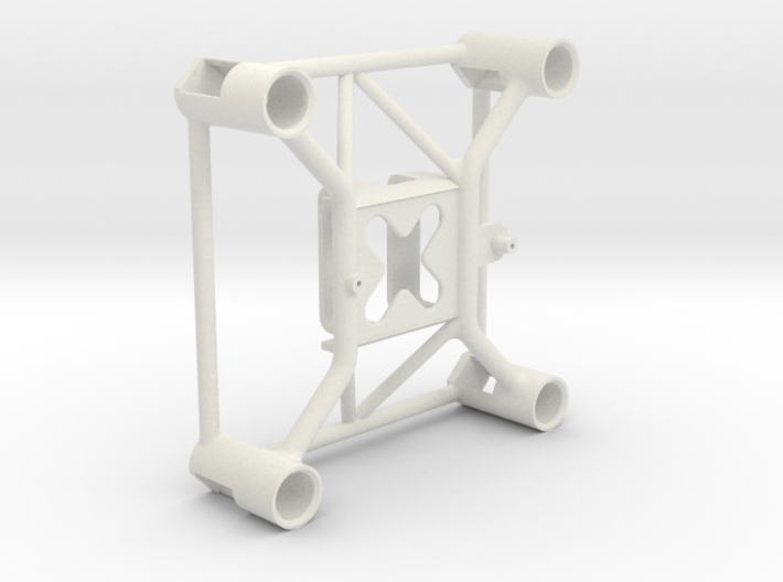 Mini Drone Frame for Eachine E010 - Faster, Strong 3d printed Shapeways Product Rendering