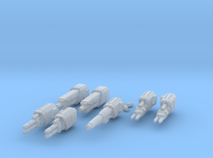 WoB Beam Weapon Pack B 3d printed
