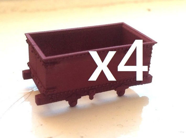 009 Corris Rly 'Queen Mary' X4 3d printed