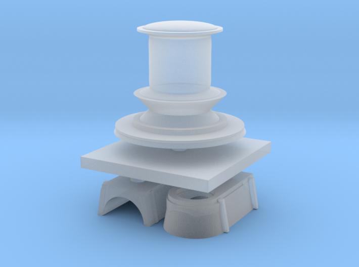 1:144 Navy Capstan 3d printed