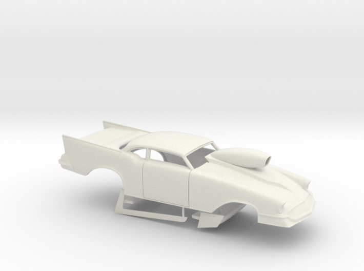1/25 57 Chevy Pro Mod W Scoop 3d printed