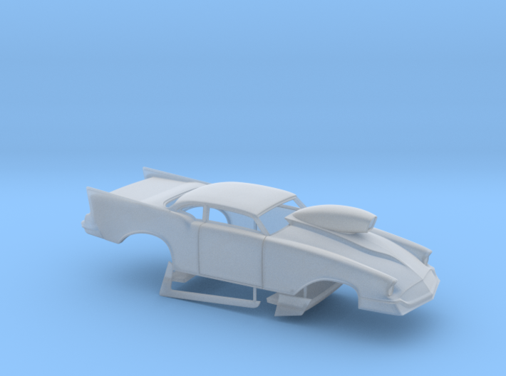1/43 57 Chevy Pro Mod W Scoop 3d printed