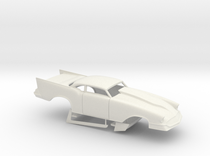 1/12 57 Chevy Pro Mod No Scoop 3d printed