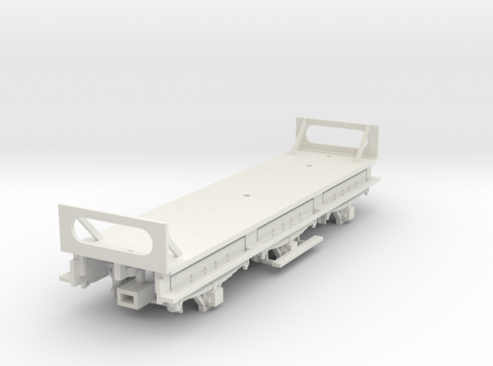 Great Northern Railway of Ireland W1 Van Chassis 3d printed