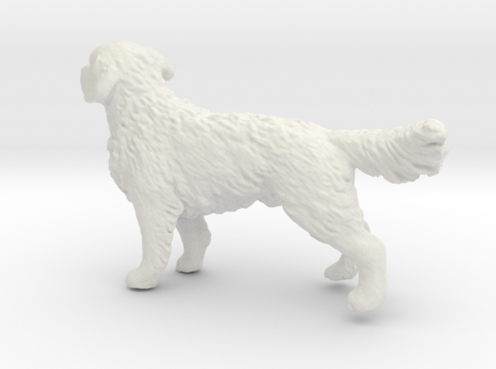 1/24 Golden Retriever Young Standing 3d printed