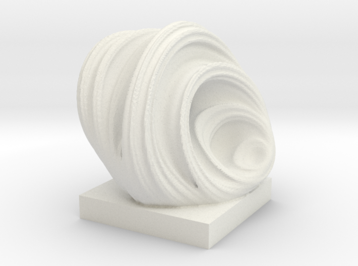 Taffy, solid. 3d printed