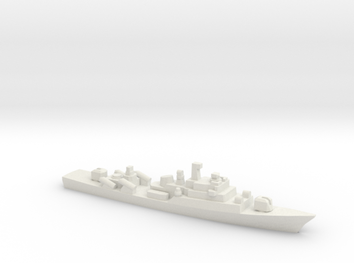 Yugoslav frigate Split, 1/1800 3d printed