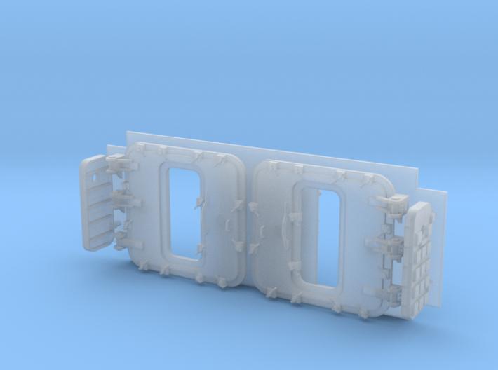 1/72 Burke Specific Doors - Open 3d printed