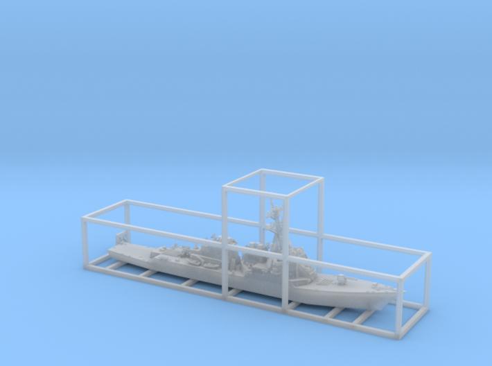 1/2000 USS Arleigh Burke 3d printed