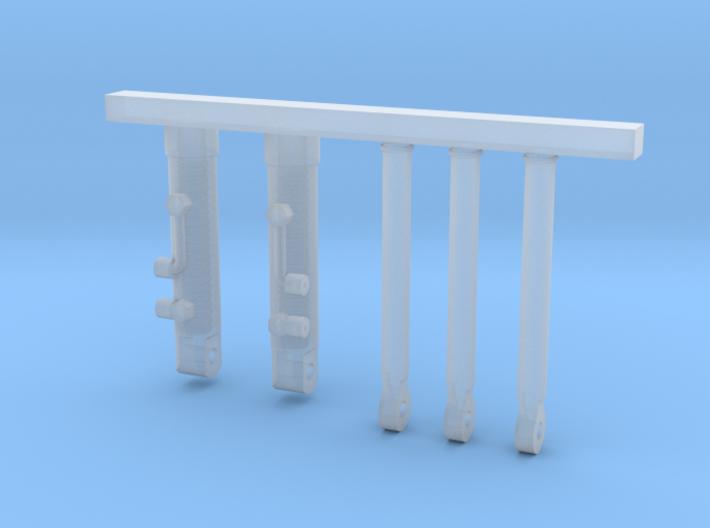 Zylinder Saatbettkombination 4,5m Teil 2 Von 2 3d printed