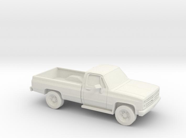 1/72 1982 Chevrolet Silverado 3d printed