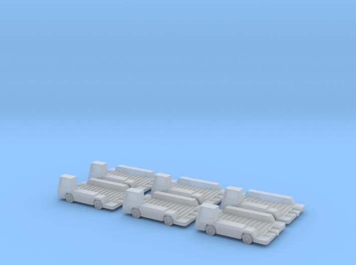 1:500 GSE 6x Mulag Pulsar CP Transporter 3d printed