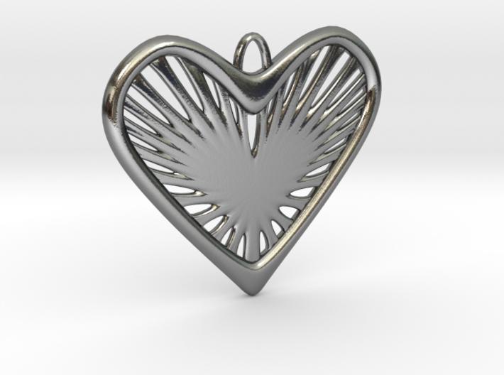 Heart Strings 3d printed