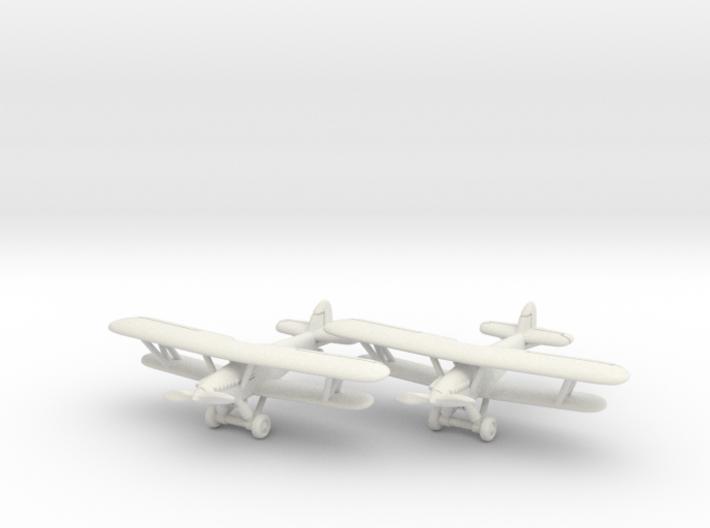 Hawker Demon (RAAF version) 1/285 6mm 3d printed