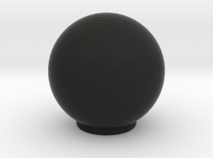 Railbox Knob Round 3d printed