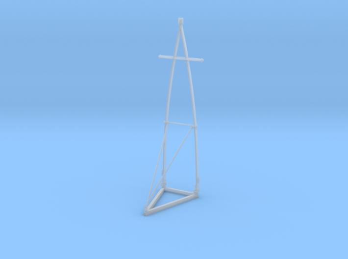 1-35 Elco PT Boat Early Mast 3d printed