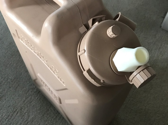 JC2HT Short Necked 3d printed