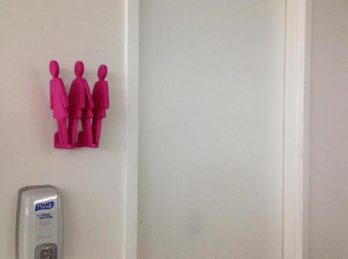Bathroom Signs - Men & Women 3d printed