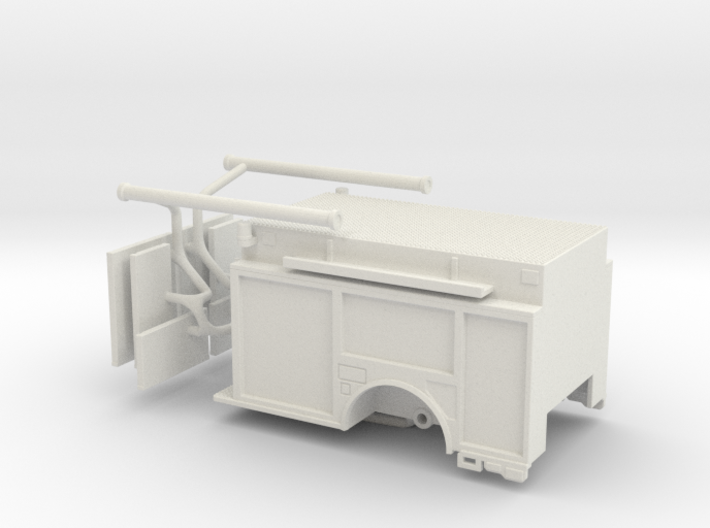 1/64 KME Camden engine body updated 3d printed