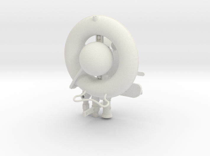 Wechselapparat With Dispenser Fittings - Scaled Up 3d printed