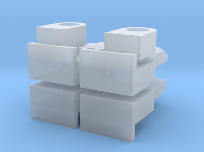 Getriebeteile AST1-X 6X6 3d printed