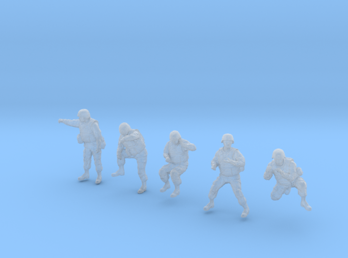 1-35 US Arty Crew Cold Weather Set3 3d printed