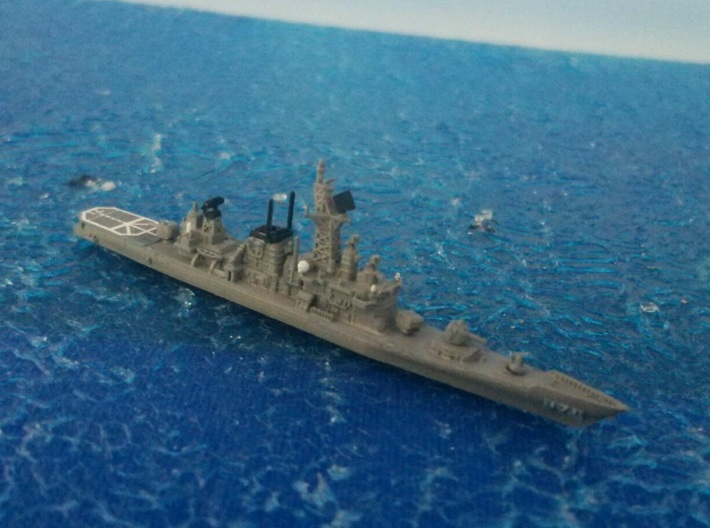 1/2000 JS Hatakaze-class destroyer 3d printed painted and decal