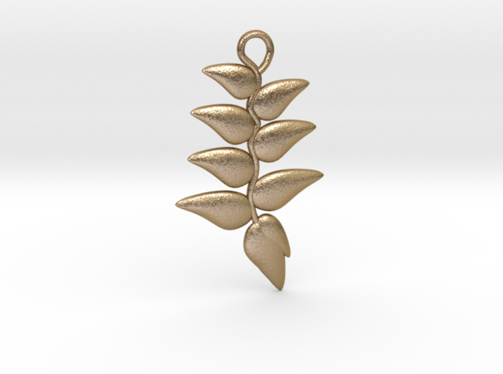 Hanging Heliconia Pendent 3d printed