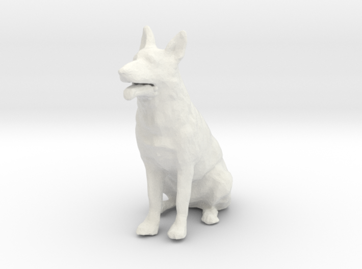 1/24 German Shepherd  3d printed