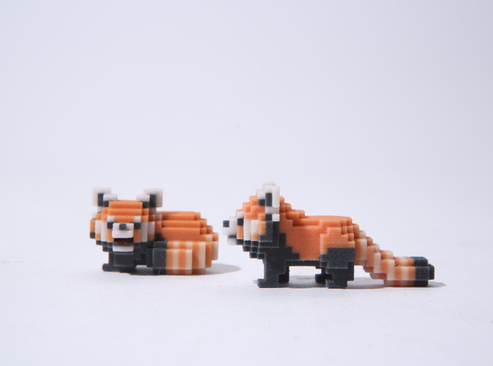 Red panda twin 2nd 3d printed