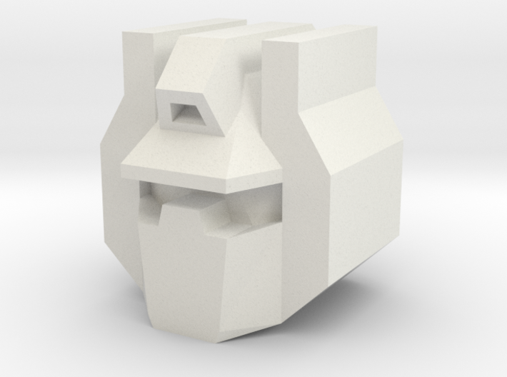 Grimmy Head for Construction Robot Set 3d printed