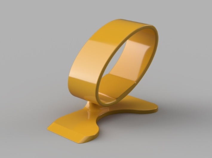 Wristwatch stand - side B 3d printed