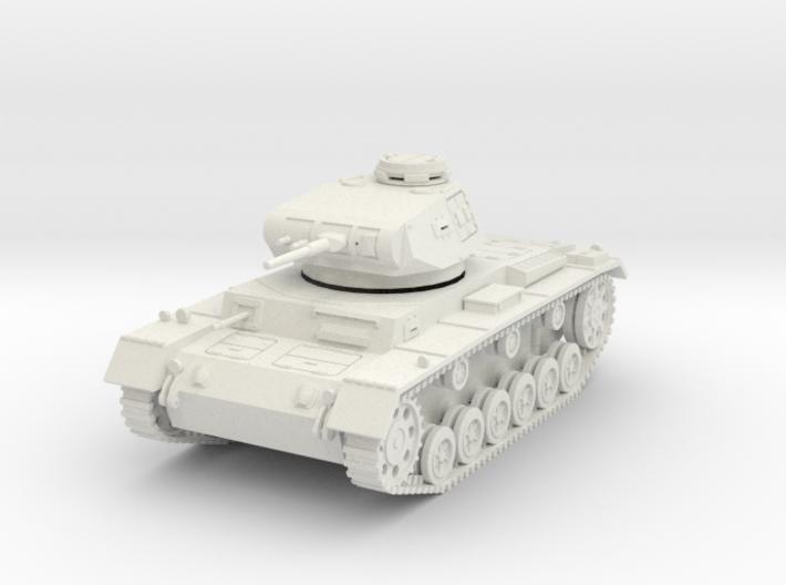 PV154A Pzkw IIIF Medium Tank (28mm) 3d printed