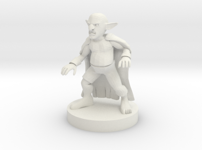 The Pudding King 3d printed