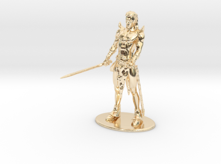 Elric of Melniboné Miniature 3d printed