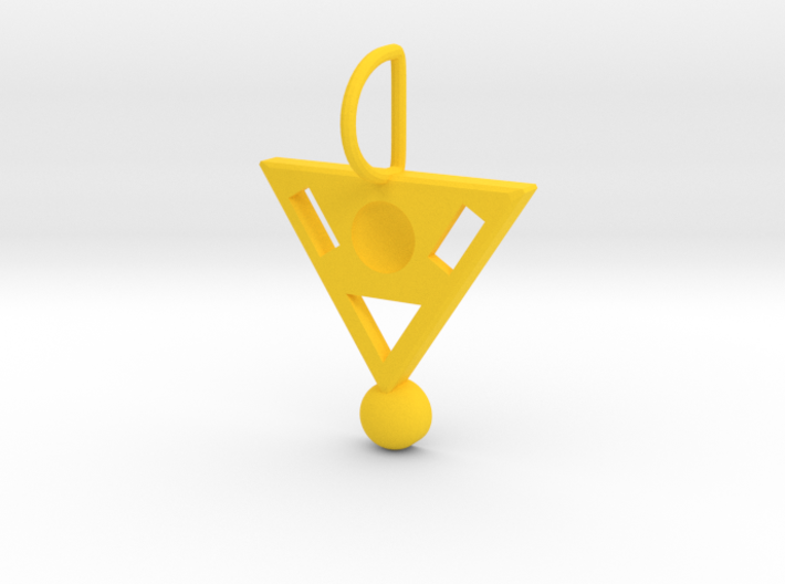 Geometric Meeting On A Triangle 3d printed
