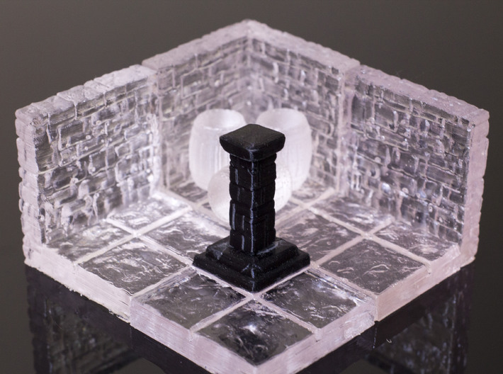 Dragon's Dungeon - Stone Pillar 3d printed