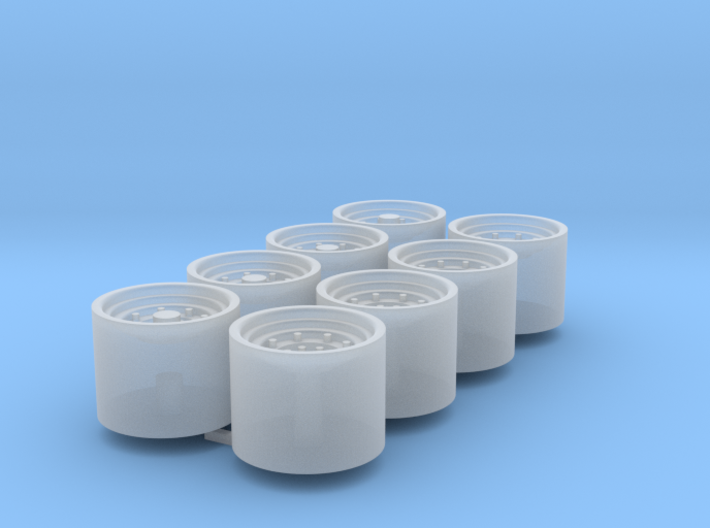 1/64 9r Wheels Duals Packaged Of 8 3d printed