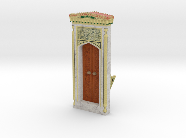 Mehrab_Door (2/3) 3d printed