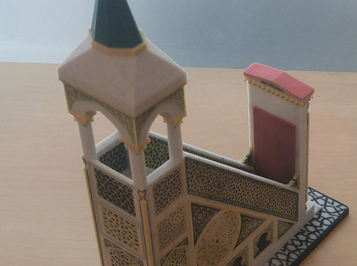 Mehrab_Door (2/3) 3d printed 3D Printed Model of complete Mehrab